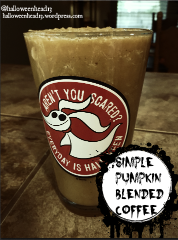 blended pkin coffee