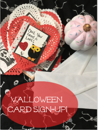 valloween card sign up fo rblog