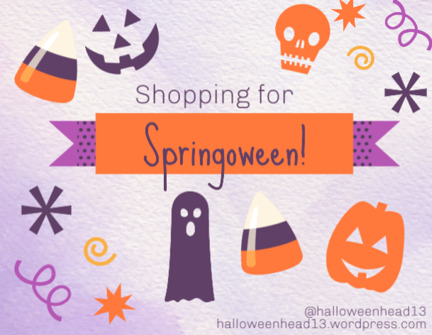 shopping for springoween